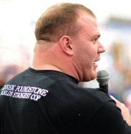 Derek Poundstone strongman rawtraining