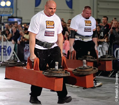 Laurence Shahlaei e Brian Shaw strongman rawtraining