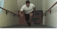 Affondi sulle scale!