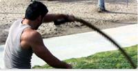 Battling rope training per le MMA