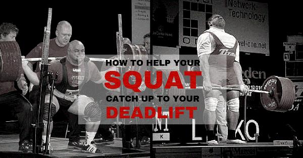 Come aiutare il tuo squat a raggiungere lo stacco