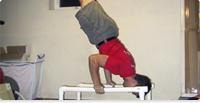 Handstand pushup libero
