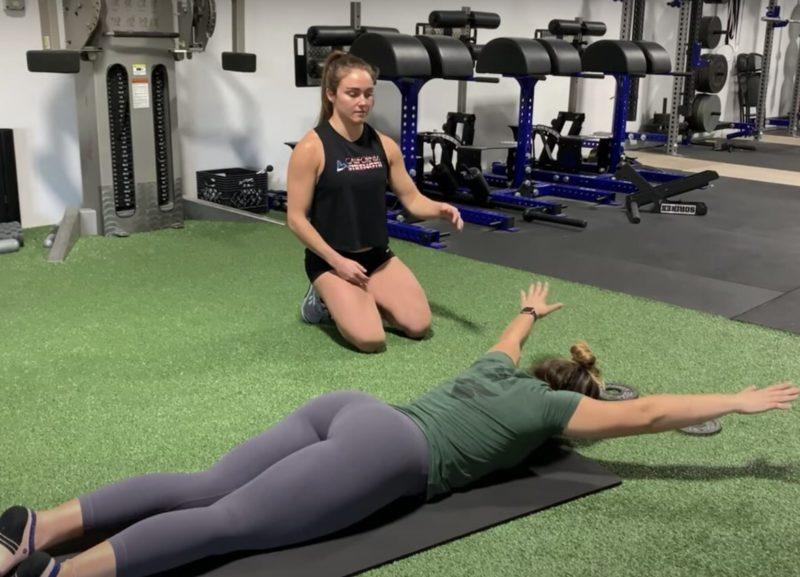 Esercizi per migliorare la postura