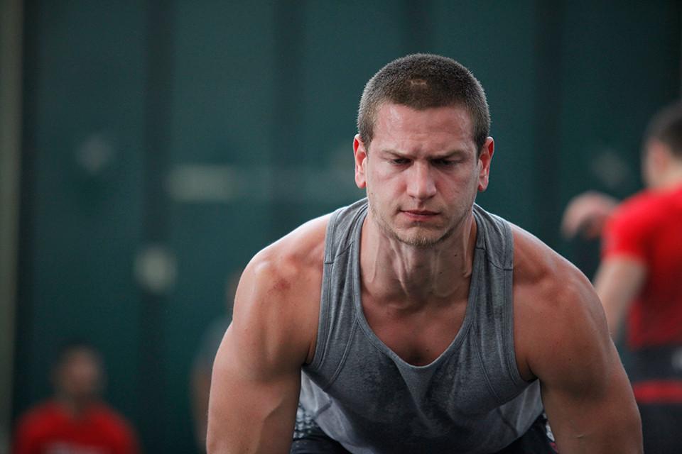 La perseveranza nello sforzo di un atleta