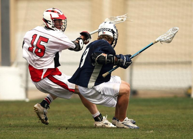 Giocatori di lacrosse